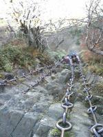 石鎚山三の鎖68m1