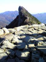 石鎚山頂上からの素晴らしい眺め3