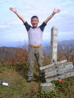 徳島県国見山頂上の風景3