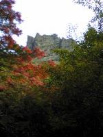 寒霞渓登山道の素晴らしい風景2