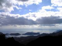 寒霞渓頂上からの眺望3