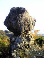 寒霞渓裏八景の奇岩3