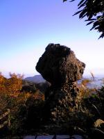 寒霞渓裏八景の奇岩1
