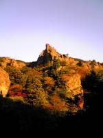 寒霞渓の夕景色1