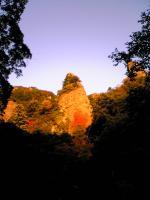 続小豆島寒霞渓裏八景の奇岩2