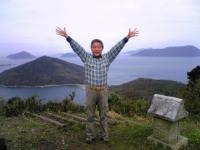 粟島城ノ山頂上の風景3