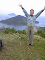 粟島城ノ山頂上の風景4