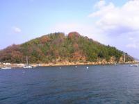 粟島上新田港の風景1