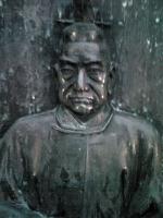 仙台城跡伊達政宗公の銅像6