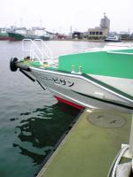 高速艇ニュービサンで手島ヘ1