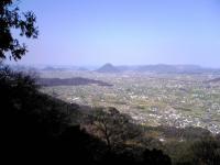 金比羅さんから見た飯野山3