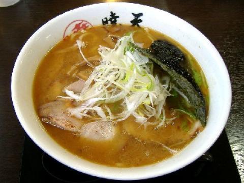 暁天・塩ラー麺