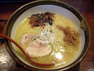 メン屋ちっきん ちっきん麺【塩】