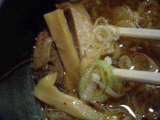 つけ麺なかむら しょう油つけ麺(具)