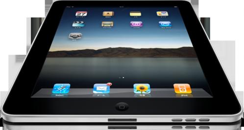 iPad top