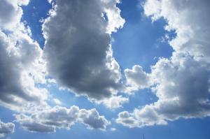 201109残暑の空