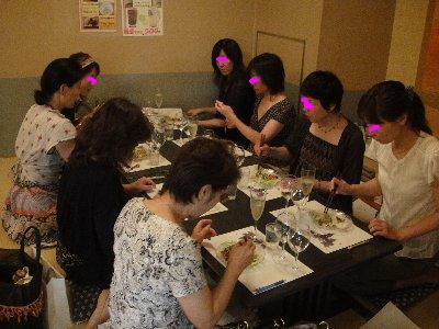お食事中①