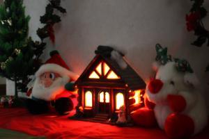 12月の玄関