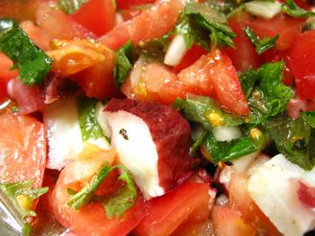 トマトとタコのマリネ