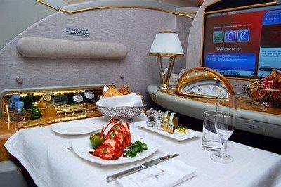 エミレーツ航空(ドバイ) ファーストクラス エアバスA380