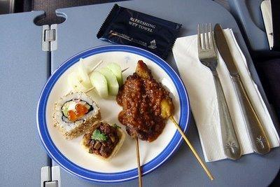 シンガポール航空 ビジネスクラス2