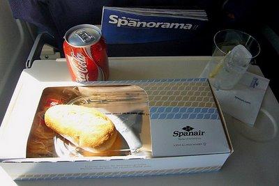 スペインエア航空 エコノミークラス