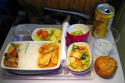 タイ国際航空 エコノミークラス