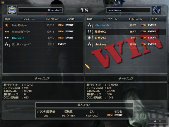 s-1月2日 5戦目WT