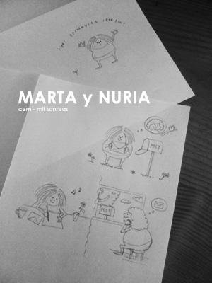 dibujos de Marta