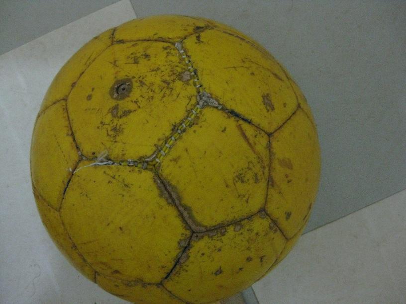 サッカー部のボール