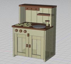ままごとキッチン案1