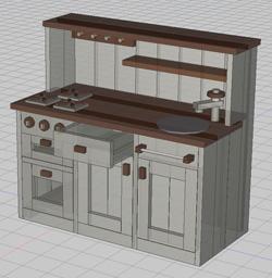ままごとキッチン案3