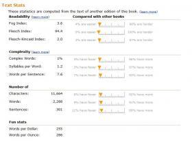 amazon text stats
