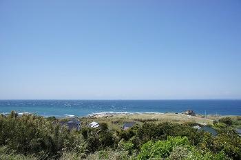 洲崎灯台から景色