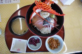 海鮮丼:伊勢海老付き