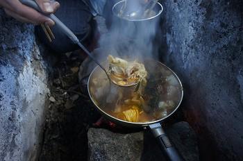 キムチ鍋ラーメン。