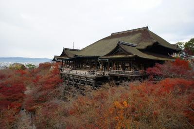 清水寺をパチリ