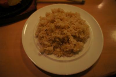 五穀米です。