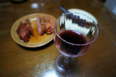 メインはワイン