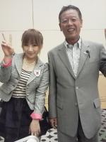 2013.9.28 愛川ゆず季さんと