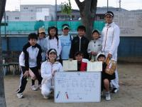 テニス大会早田01