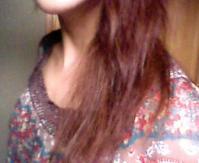 パサパサの髪..