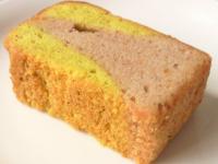 カボチャとあずきのパウンドケーキ