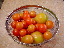 薄色トマト