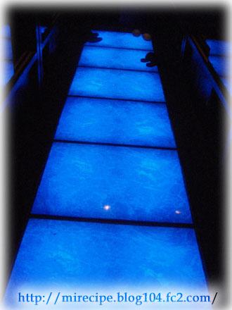 銀座 青の洞窟 廊下