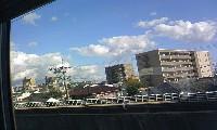 新幹線の車窓から