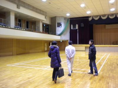亀田市民会館視察1