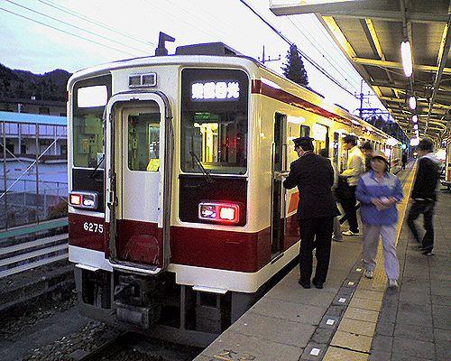 東武6050系(2010年3月6日・下今市駅)