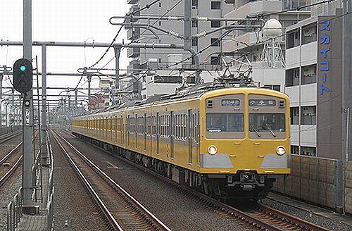 西武池袋線101N系271F+309F通勤準急(2012年4月24日・中村橋)