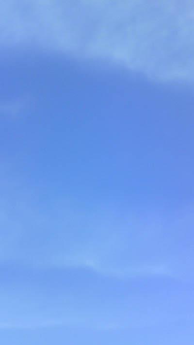 いつかの青い空